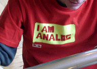 Product 109: I Am Analog
